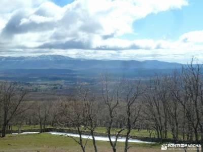 Chorrera o Chorro de San Mamés senderismo para principiantes grupos amigos madrid ruta el chorro